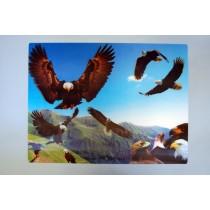 Tischset mit Adlern
