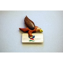 Magnet aus Holz mit Adler